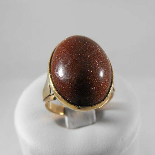Złoty pierścionek P1299, kolor żółty