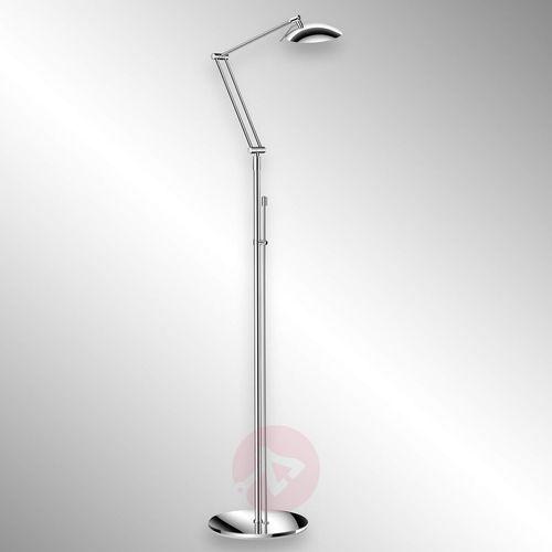 Knapstein Atrakcyjna lampa stojąca led curl chrom (4250035814776)