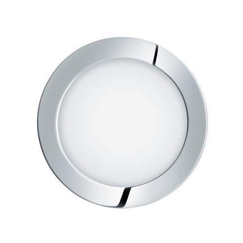 Plafon fueva 1 96244 lampa oprawa wpuszczana downlight oczko 1x10,9w led biały / chrom okr. marki Eglo