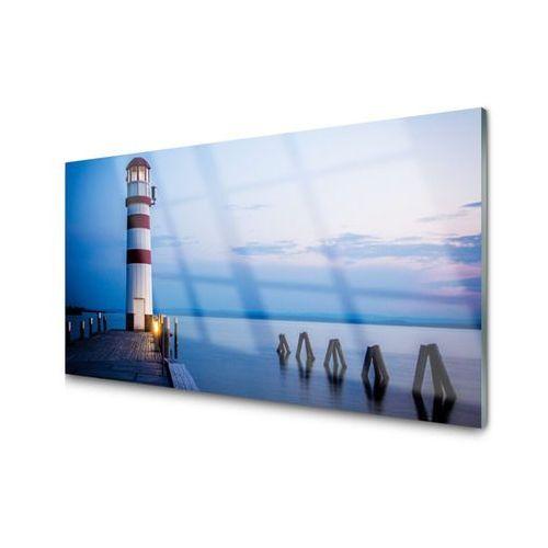 Tulup.pl Obraz na szkle latarnia morska architektura