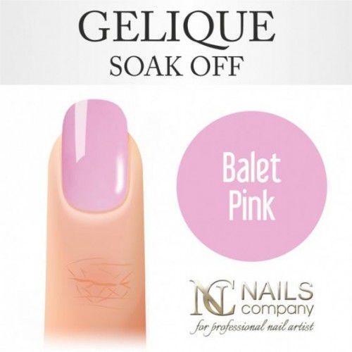 Nails Company GELIQUE BALLET PINK 6ML - Żel hybrydowy, 40522
