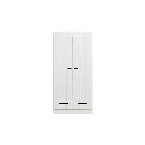 :: szafa connect dwudrzwiona z szufladami - 2-drzwiowa z szufladami marki Woood