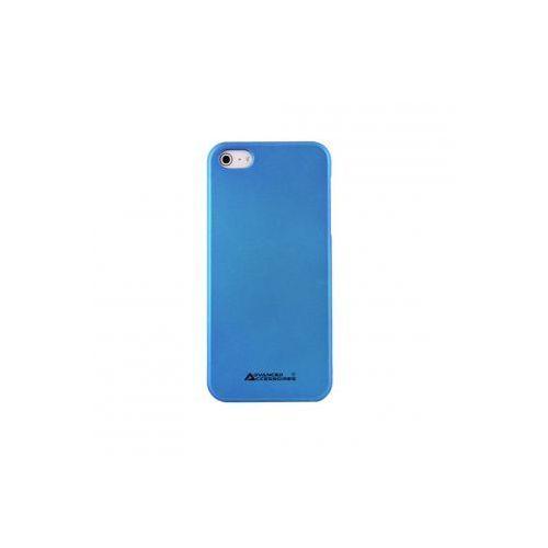 ADVANCED ACCESSORIES Etui SWANKY dedykowane do Apple iPhone SE/5S/5 - niebieskie Odbiór osobisty w ponad 40 miastach lub kurier 24h - sprawdź w wybranym sklepie