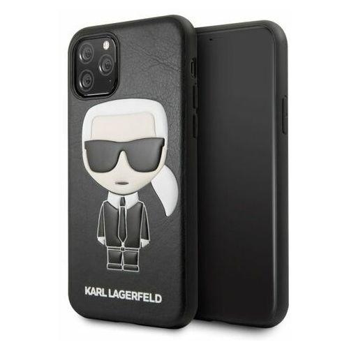 Etui Karl Lagerfeld KLHCN58IKPUBK iPhone 11 Pro hardcase czarny/black Iconic Karl Embossed (3700740459546)