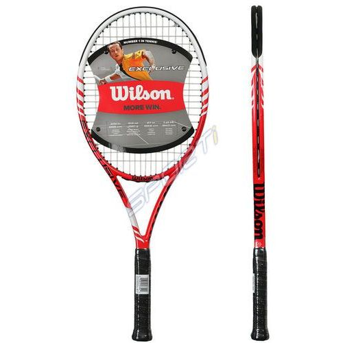 Rakieta tenis ziemny Wilson EXCLUSIVE HYTRID RD