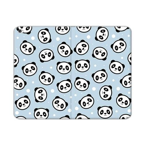 Apple ipad mini 4 - etui na tablet flex book fantastic - panda na niebieskim tle marki Etuo flex book fantastic