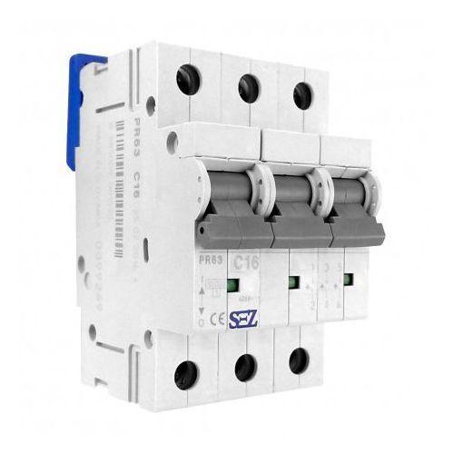 Pce C16a 3p 10ka wyłącznik nadprądowy bezpiecznik typ s eska pr63 sez 1590 (8585009001590)