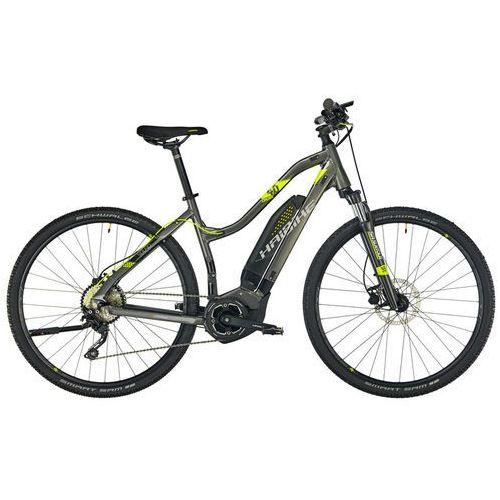 """HAIBIKE SDURO Cross 4.0 Rower elektryczny crossowy Kobiety szary 44cm (28"""") 2018 Rowery elektryczne"""