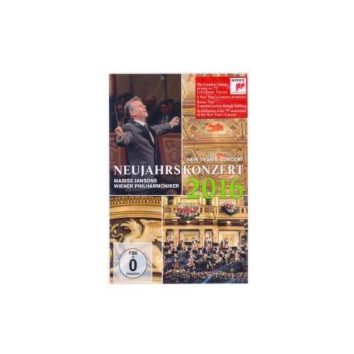 Sony music entertainment Neujahrskonzert / new year's concert 2016, 1 dvd