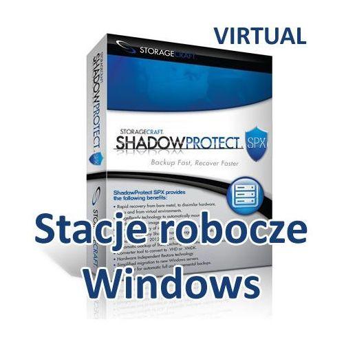 Storagecraft virtual shadowprotect spx desktop (windows) pakiet 6 lic.