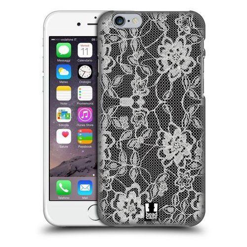 Etui plastikowe na telefon - Black Lace FLOWERY