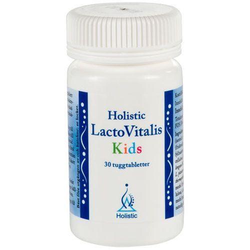 Probiotyk dla Dzieci Jelitowa Flora Bakteryjna LactoVitalis Kids Holistic 30 tabl, postać leku: tabletki