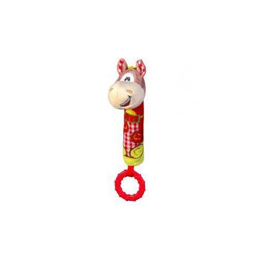 Babyono  zabawka piszcząca z gryzakiem konik 6m+, kategoria: grzechotki i gryzaki