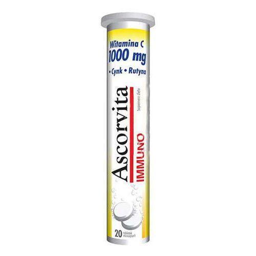 ASCORVITA IMMUNO x 20 tabletek musujących