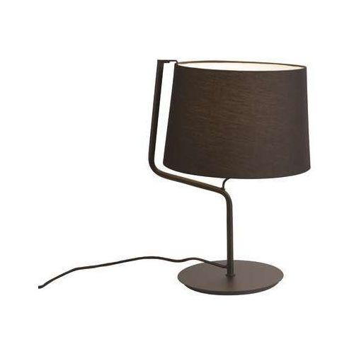 Lampa stołowa lampka MAXlight Chicago 1x100W E27 czarna T0029