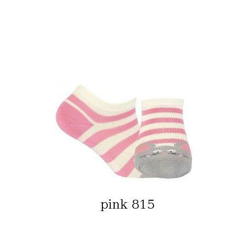 Stopki Wola dziewczęce zwierzątka W21.01P 2-6 lat 24-26, różowy/rose 808, Wola, kolor różowy