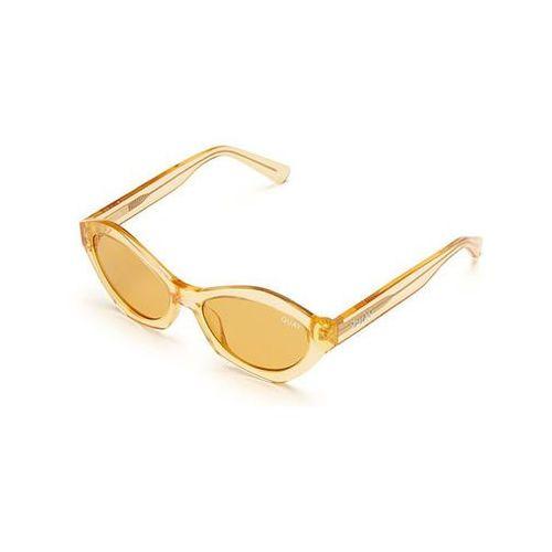 Okulary słoneczne qc-000212 quayxkylie as if! orng/orng marki Quay australia