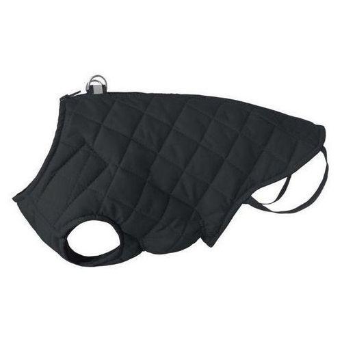 kurtka pikowana dla psa z odblaskiem kolor czarny różne rozmiary marki Chaba