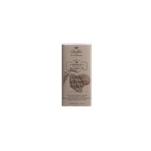 Czekolada dolfin 70% z ziarnami kakao 70g marki Dolfin the art of blending