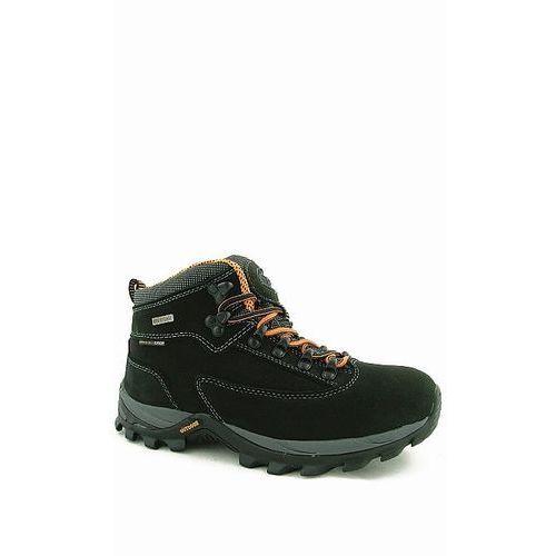 Buty trekkingowe damskie czarne skórzane TF20130305 czarny 38 - produkt z kategorii- Trekking i Nordic walking