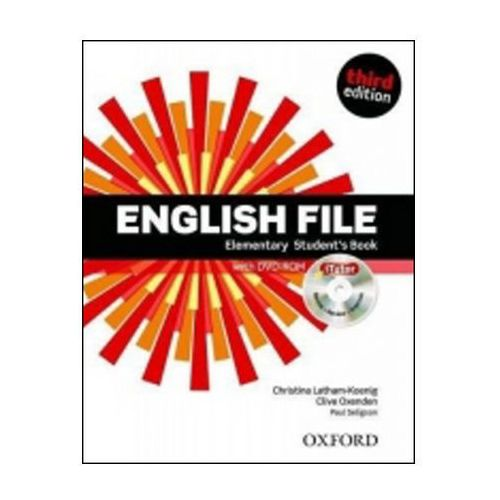 English File Third Edition Elementary Student´s Book With Itutor Dvd-rom Cz