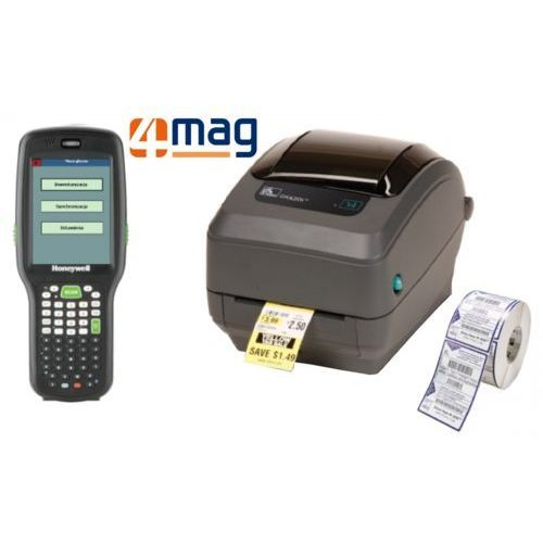 Com4it Zestaw do inwentaryzacji: terminal + 4mag + drukarka + etykiety (wypożyczenie)