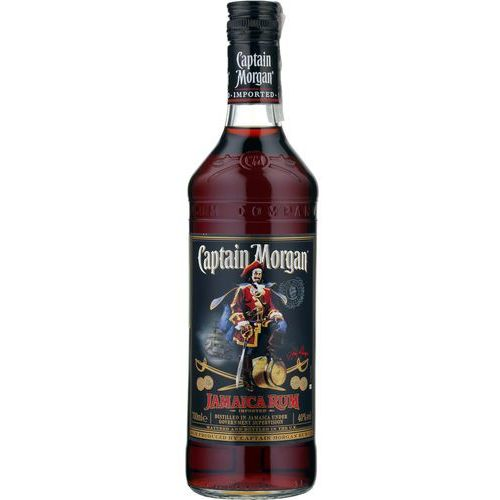 Captain morgan black rum wyprodukowany przez Diageo