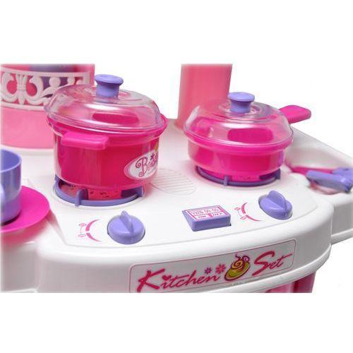 OKAZJA - Duża kuchnia dla dzieci piekarnik dźwięki 1988a - różowy marki Kindersafe