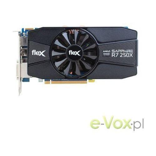 Karta graficzna Sapphire FLEX R7 250X 1GB GDDR5 (128-bit) 2xDVI, DisplayPort, HDMI (11229-03-20G) Szybka dostawa! Darmowy odbiór w 19 miastach! - sprawdź w wybranym sklepie