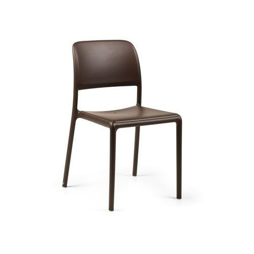 Krzesło Riva coffee, kolor brązowy