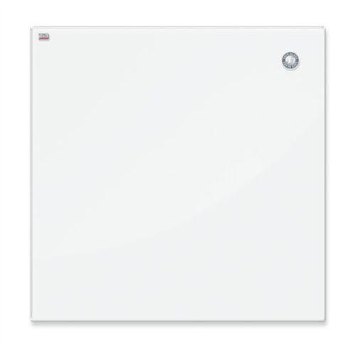 Tablica szklana 2x3 magnet. 100x100cm - biała, TSZ1010 W