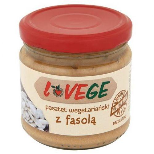 Pasztet wegetariański z fasolą Lovege 180g, kup u jednego z partnerów