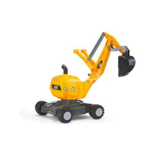 koparka cat żółta marki Rolly toys