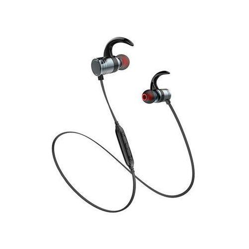 Awei AK7 sportowe słuchawki douszne Bluetooth gun color - Metalowy