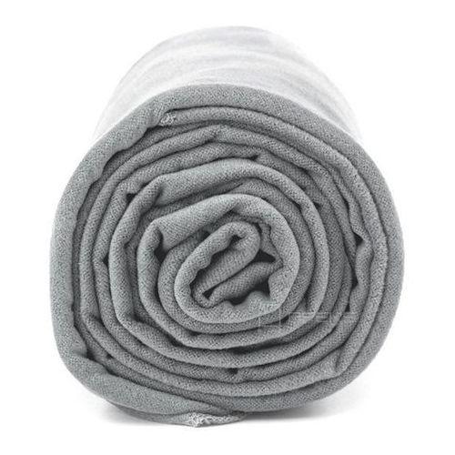 Dr.bacty xl szybkoschnący ręcznik treningowy 70x140 cm / szary - szary