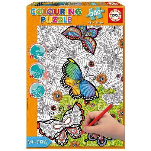 Educa 300 elementów motyle puzzle do kolorowania (8412668170896)