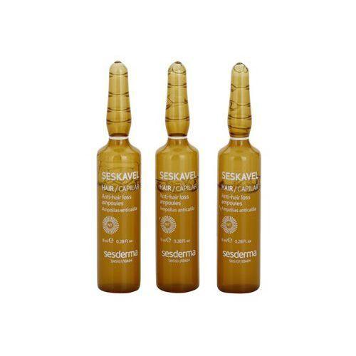 Sesderma Seskavel intensywna kuracja przeciw wypadaniu włosów (Morus Alba Root Extract) 12 x 8 ml