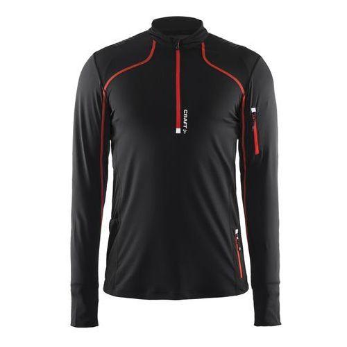 Craft  trail ls shirt - męska bluza (czarny)