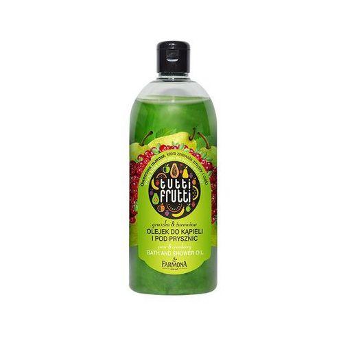 Gruszka & żurawina olejek do kąpieli i pod prysznic od producenta Tutti frutti