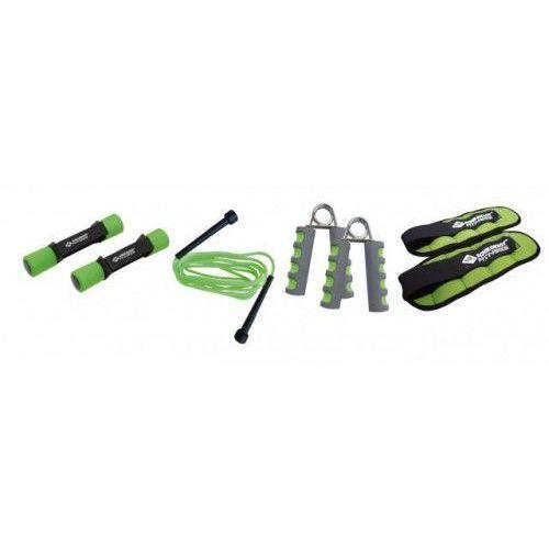 Zestaw 4 przyrządów do fitnessu marki Schildkrot fitness