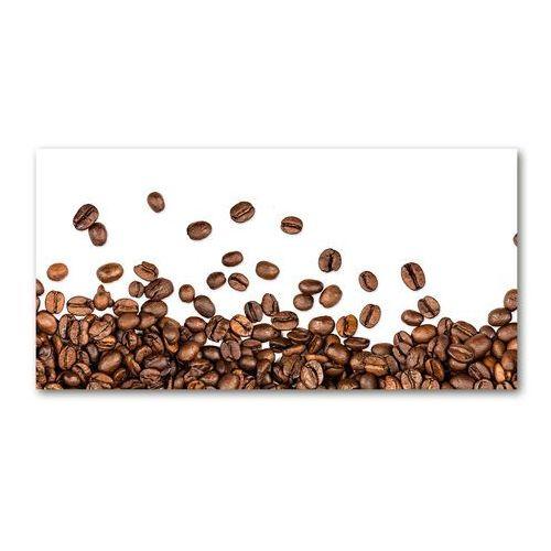 Foto obraz szkło hartowane Ziarna kawy
