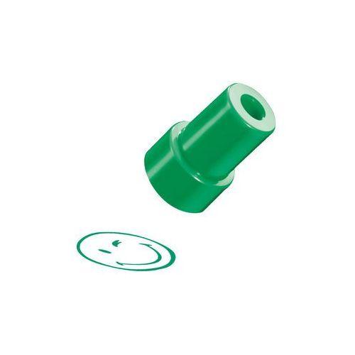 Herlitz Stempel smiley.world, zielony, uśmiech, - zielony (2501234500604)