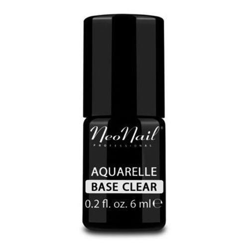 aquarelle base clear baza bezbarwna do lakieru hybrydowego aquarelle marki Neonail