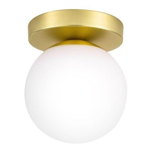 Lampa sufitowa baldaz 1-punktowa e14 mosiądz marki Goodhome