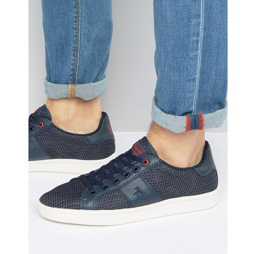 Original Penguin Stedman Mesh Trainers - Blue