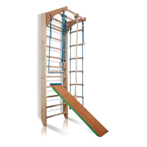 Zestaw Drabinka gimnastyczna dla dzieci Kombi 3 Insportline 240 cm (8596084058263)