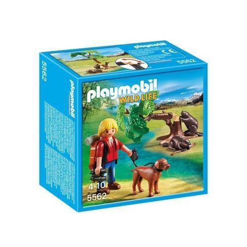 Playmobil WILD LIFE Drzewo z bobrami i przyrodnikiem 5562 - BEZPŁATNY ODBIÓR: WROCŁAW!