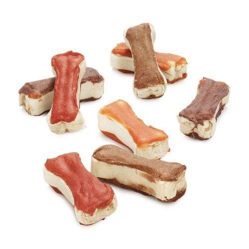 Lukullus Mieszany pakiet gustico kości do gryzienia - kurczak, kaczka, jagnięcina, łosoś (każdy 12 x 5 cm) (4260358511085)