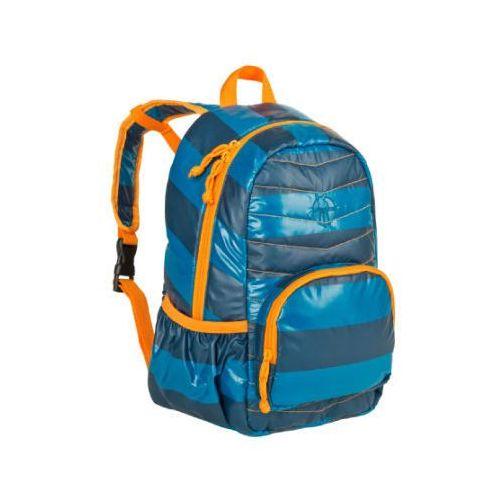 Lässig Plecak striped petrol, kolor niebieski
