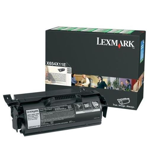 Lexmark  toner black x654x31e (opakowanie korporacyjne)